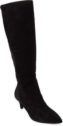 Bandolino Black Wright Stretch Tall Boots