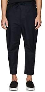 Chapter MEN'S STRETCH-COTTON DRAWSTRING TROUSERS - NAVY SIZE 36