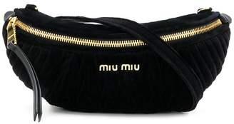 Miu Miu (ミュウミュウ) - Miu Miu ミュウ ライダー ベルトバッグ