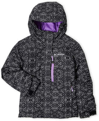 Columbia Girls 4-6x) Printed Magic Mile Jacket