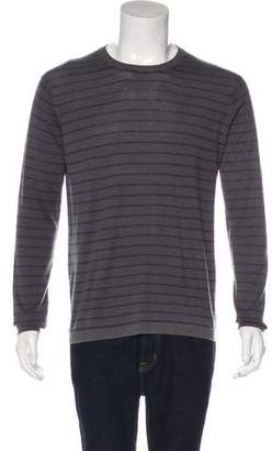 Boglioli Silk & Cashmere Striped Sweater