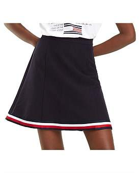 Tommy Hilfiger Angela Global Stp Short Skirt