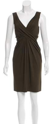Michael Kors Sleeveless Draped Dress