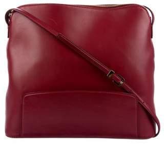 The Row Leather Crossbody Bag