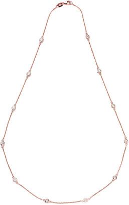 LeVian Suzy Diamonds Suzy 14K Rose Gold 1.30 Ct. Tw. Diamond Station Necklace
