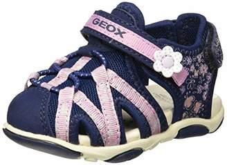 Geox Girl's Agasim B Sport Sandal,21 M EU Toddler (5.5 US)