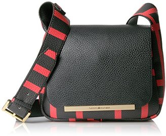 Tommy Hilfiger Sienna Small Plaid Saddle Bag $80.85 thestylecure.com
