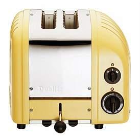 Dualit Newgen 2 Slice Toaster Canary Yellow