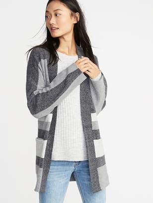 Old Navy Striped Open-Front Sweater for Women