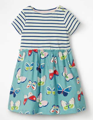 Boden Bright Hotchpotch Jersey Dress