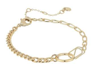 French Connection Paperclip Chain Bracelet