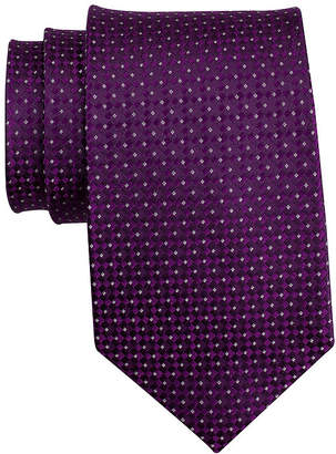 COLLECTION Collection by Michael Strahan Textured Silk Tie - Extra Long