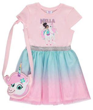 George Nella The Princess Knight Dress and Bag
