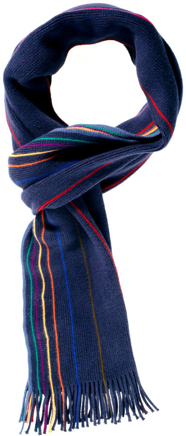 Paul Smith Reversible Plain Scarf