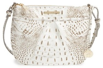 Brahmin Melbourne Tara Leather Crossbody Bag - Orange $165 thestylecure.com