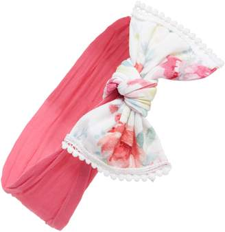 Baby Bling Combo Print Knotted Bow Headband