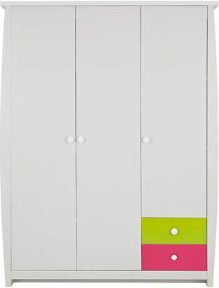 Ladybird Orlando Fresh 3-door, 2-drawer Kids Wardrobe