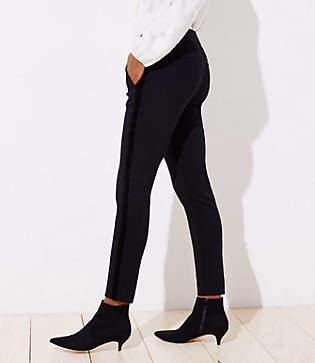 LOFT Skinny Velvet Stripe Ankle Pants in Julie Fit