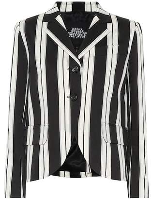Marc Jacobs (マーク ジェイコブス) - Marc Jacobs Striped cotton blazer