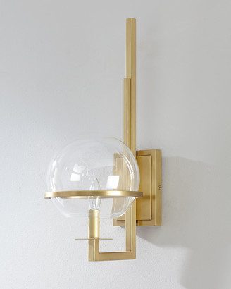 Regina-Andrew Design Regina Andrew Design Saturn Natural Brass Sconce
