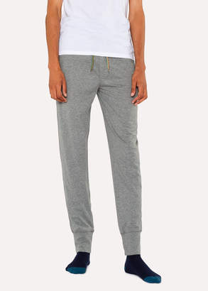 Paul Smith Men's Light Grey Jersey Cotton Lounge Pants
