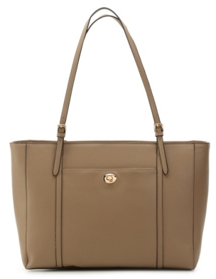 Kelly & Katie East West Work Tote $90 thestylecure.com