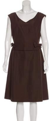 Lafayette 148 Sleeveless Knee-Length Dress