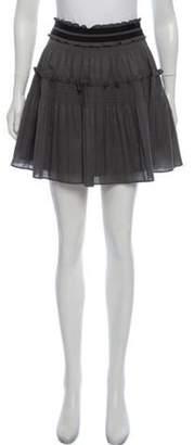 Diane von Furstenberg Light-Weight Mini Skirt Grey Light-Weight Mini Skirt