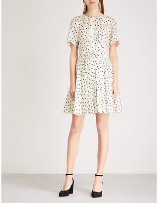 Diane von Furstenberg Polka dot silk dress