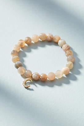 Anthropologie Crescent Beaded Bracelet