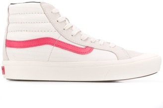 Vans logo hi-top sneakers