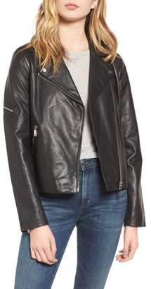 Bernardo Kirwin Leather Moto Jacket