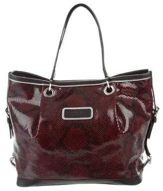 Longchamp Metallic Leather Handbags - ShopStyle 48a1da02ae3db