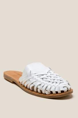 Rampage Baha Hurache Slip On Loafer - White
