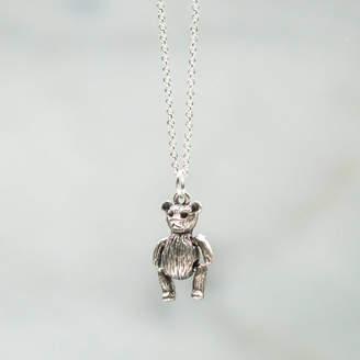 5449c991f8c Charmed   Dangerous Teddy Bear Charm Necklace