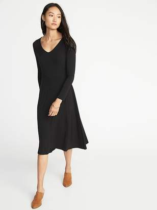 Old Navy Fit & Flare Midi Dress for Women