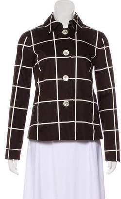 Lauren Ralph Lauren Checkered Button-Up Jacket