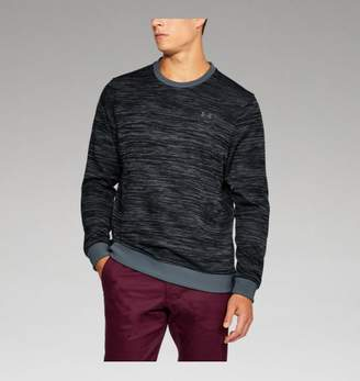 Under Armour UA Mens Storm SweaterFleece Patterned Crew