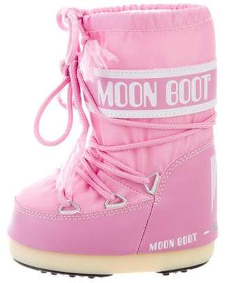 Moon Boot Girls' Tecnic Snow Boots