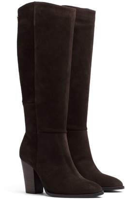 Tommy Hilfiger Suede Knee High Boot