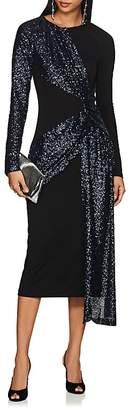 Prabal Gurung Women's Sequined Crepe Twist-Front Dress