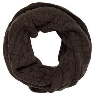 Fendi Wool Zucca Infinity Scarf