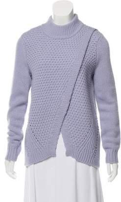 Rebecca Taylor Crew Neck Long Sleeve Sweater