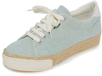 Dolce Vita Tala Espadrille Platform Sneakers $120 thestylecure.com