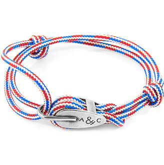 "Silver & Rope Bracelet ""Tyne"""