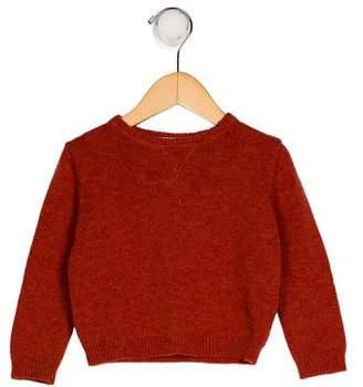 Marie Chantal Girls' Wool Crew Neck Sweater