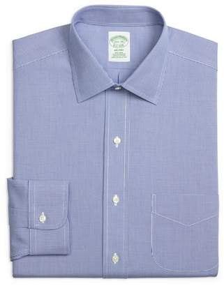 Brooks Brothers Trim Fit Houndstooth Dress Shirt