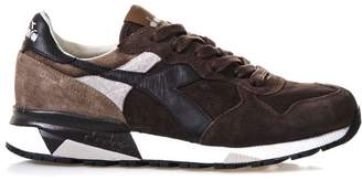 Diadora Heritage Grey Trident 90 Nyl Suede & Techno Sneakers
