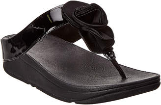 FitFlop Florrie Patent Wedge Sandal