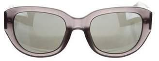3.1 Phillip Lim Mirror Oversize Sunglasses